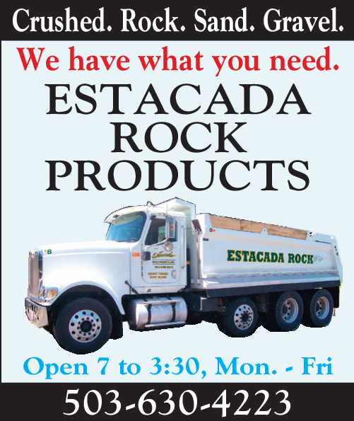 Crushed Rock And Gravel Available in Estacada, OR, Concrete