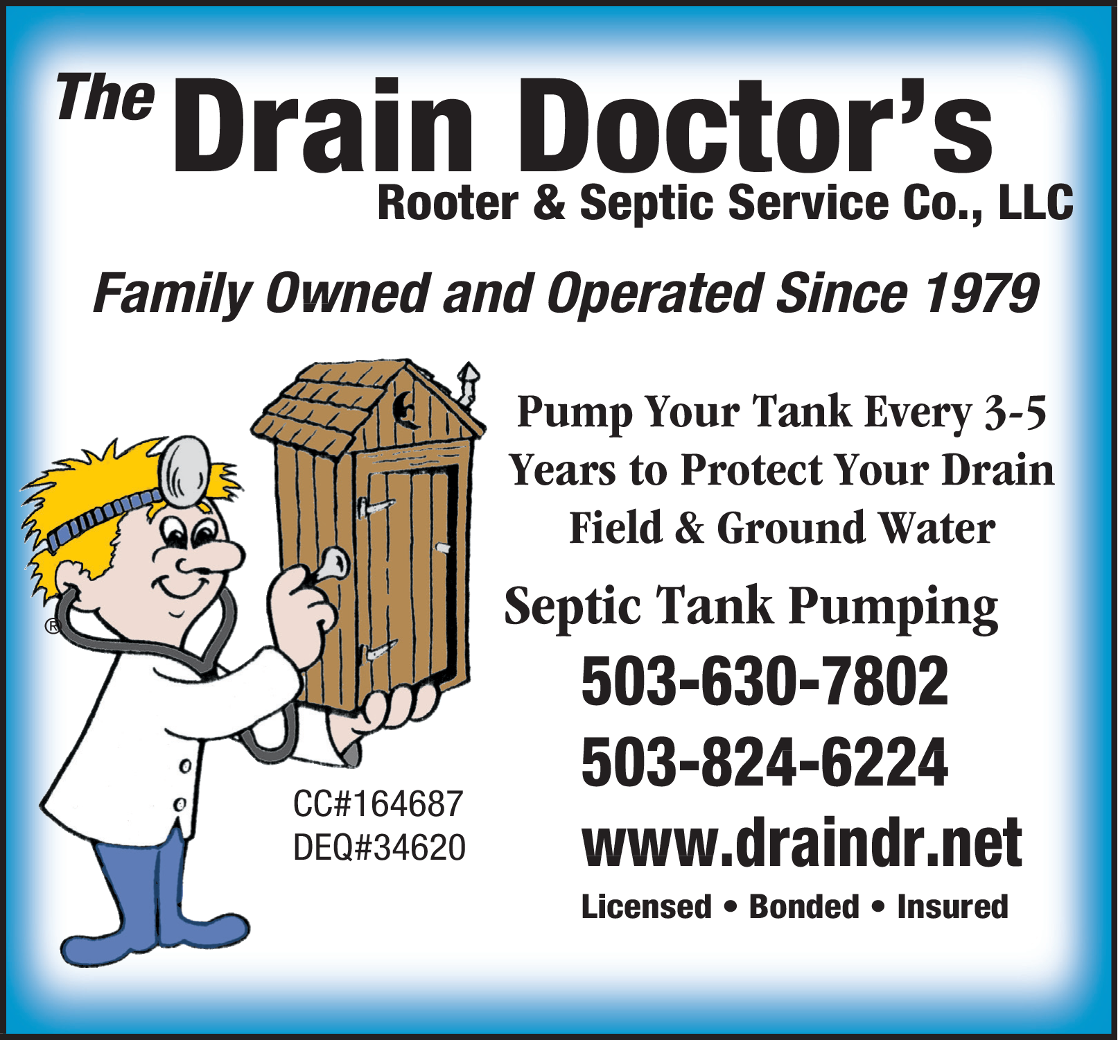 Septic Tank Pumping in Colton, OR, Cleaning Services - The Drain